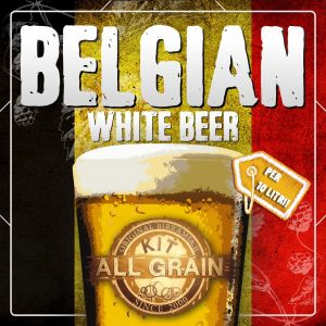 all grain Belgian White Beer Nano